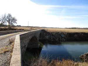 Downstream Face of Neer Bridge