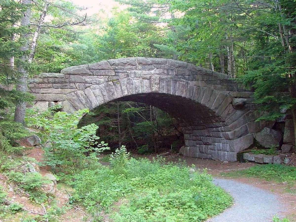 Stone Bridge of Granite
