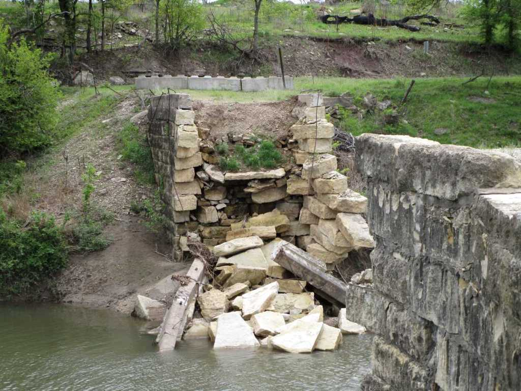 Collapsed Fox Bridge