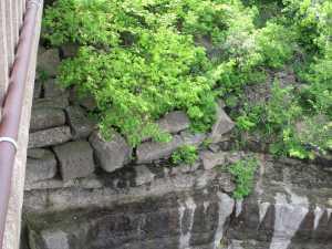 Collapsed Dunakrd Mill Bridge Arch