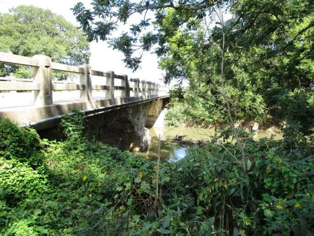 NE 110th Street Double Arch Walnut River bridge