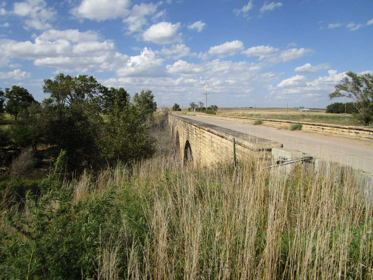 Fort Fletcher Bridge