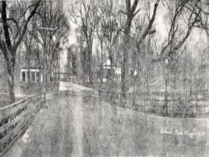 Old Island Park Bridge
