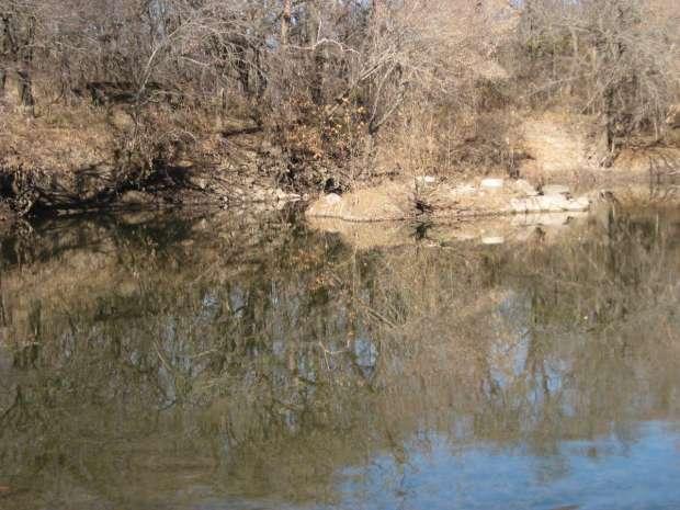 Ruins of Unknown Stone Bridge Near Dexter