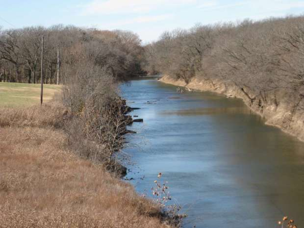 Grouse Creek from Warren Bridge
