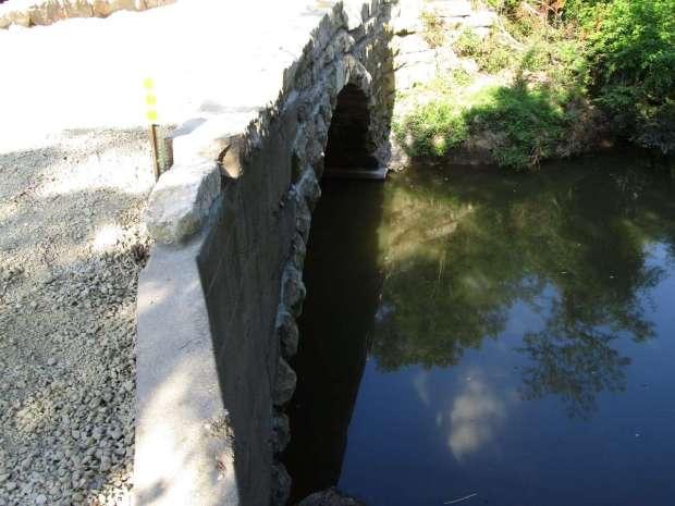 Upstream face Wilson Bridge