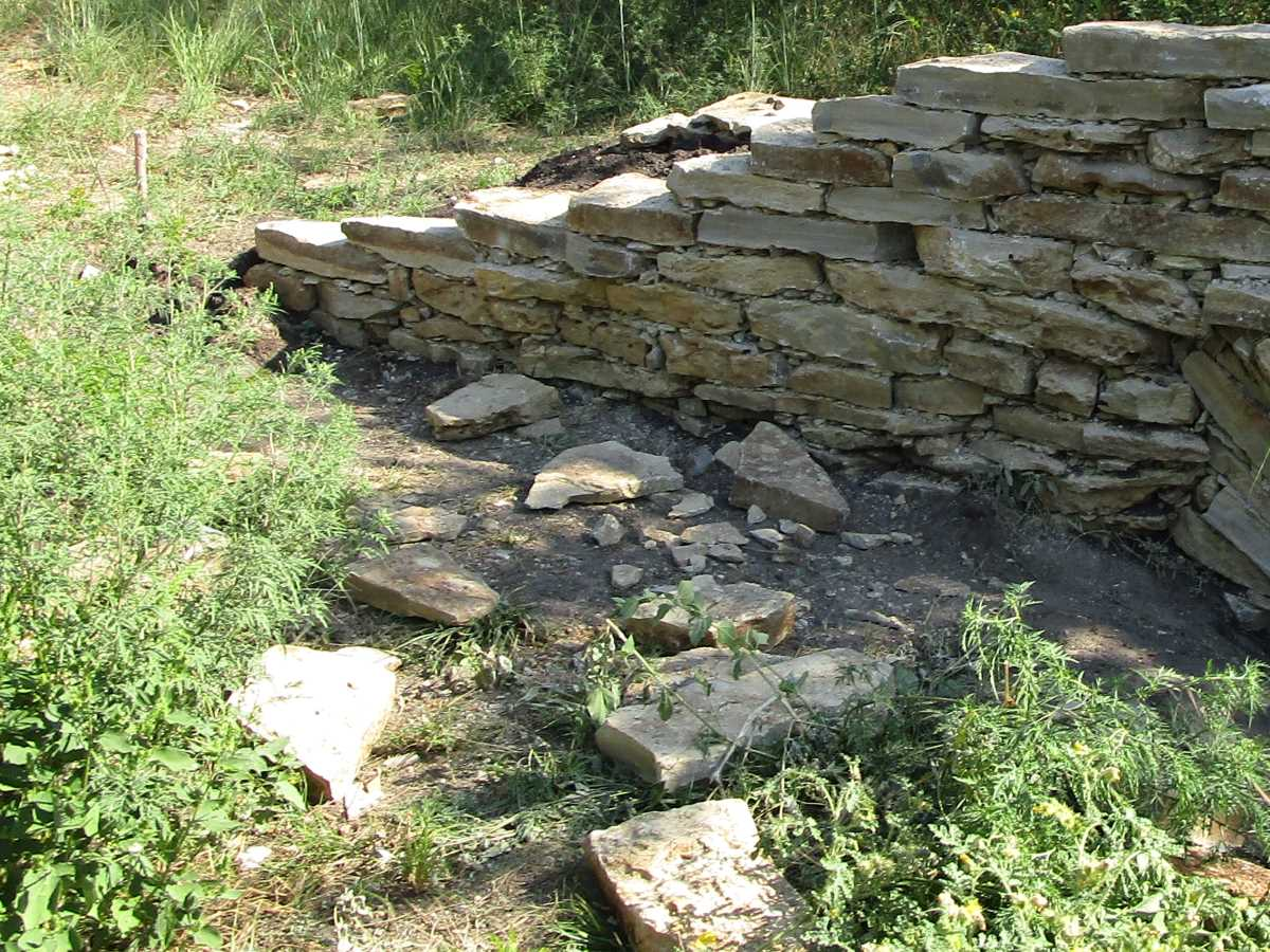 Drystack Wall